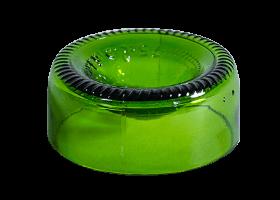 COQUETIER «VERT BOUTEILLE» H : 3-4 cm Ø 7.5 cm (x4)
