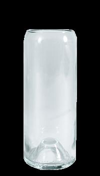 VASE «BLANC» H : 21 cm Ø 7,5 cm (À l'unité)
